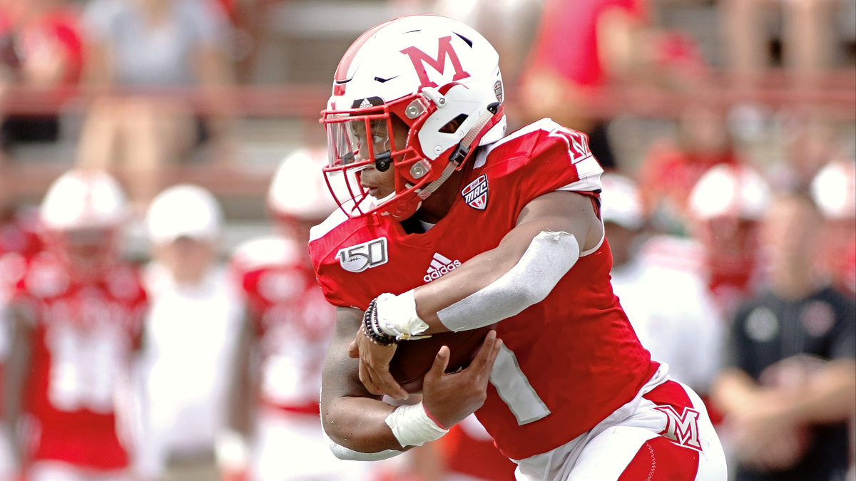 Miami (OH) vs. Buffalo Odds & Picks: Bet the Bulls to Cover the Spread in Tuesday's MAC Showdown article feature image