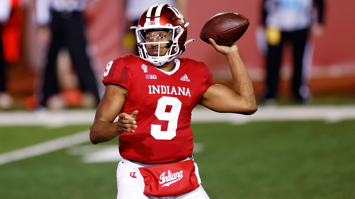 College Football Odds & Picks for Maryland vs. Indiana: How to Bet This Big Ten Over/Under article feature image
