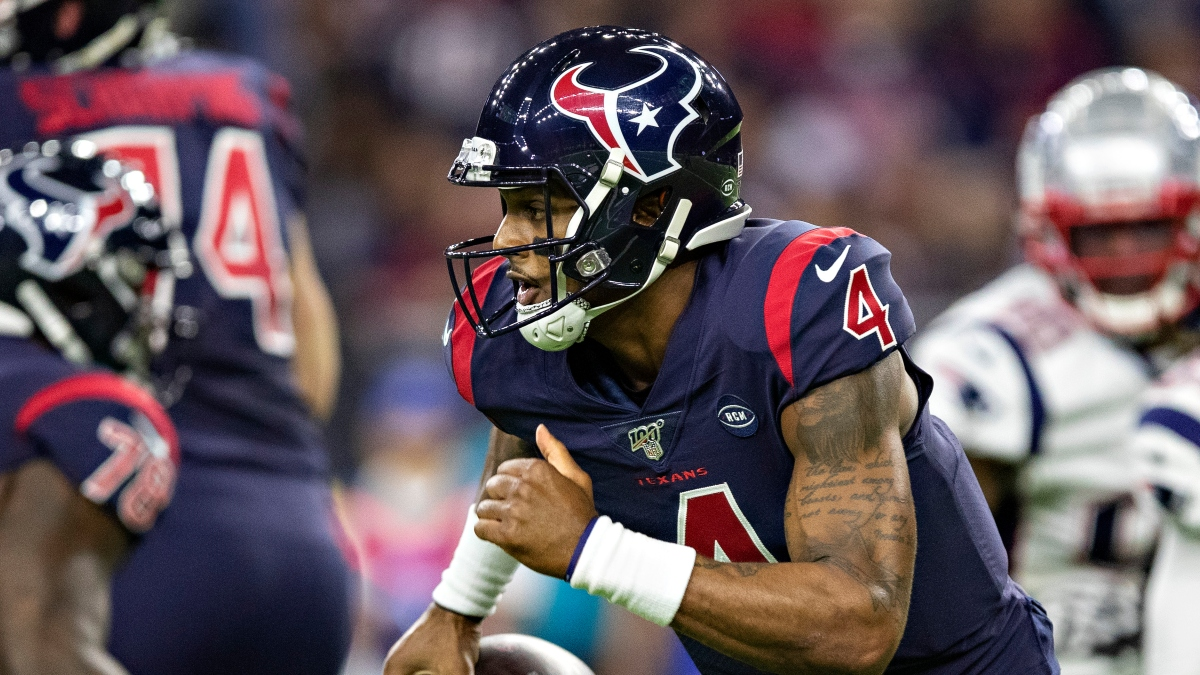 Patriots vs. Texans Odds & Picks: The Value Is On Deshaun Watson & Co. article feature image