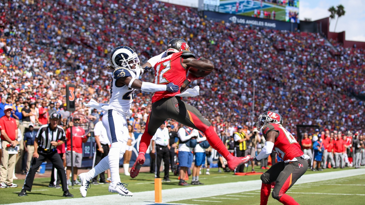 tlb6 8ano542em https www actionnetwork com nfl nfl odds picks rams buccaneers spread total monday night football 2020