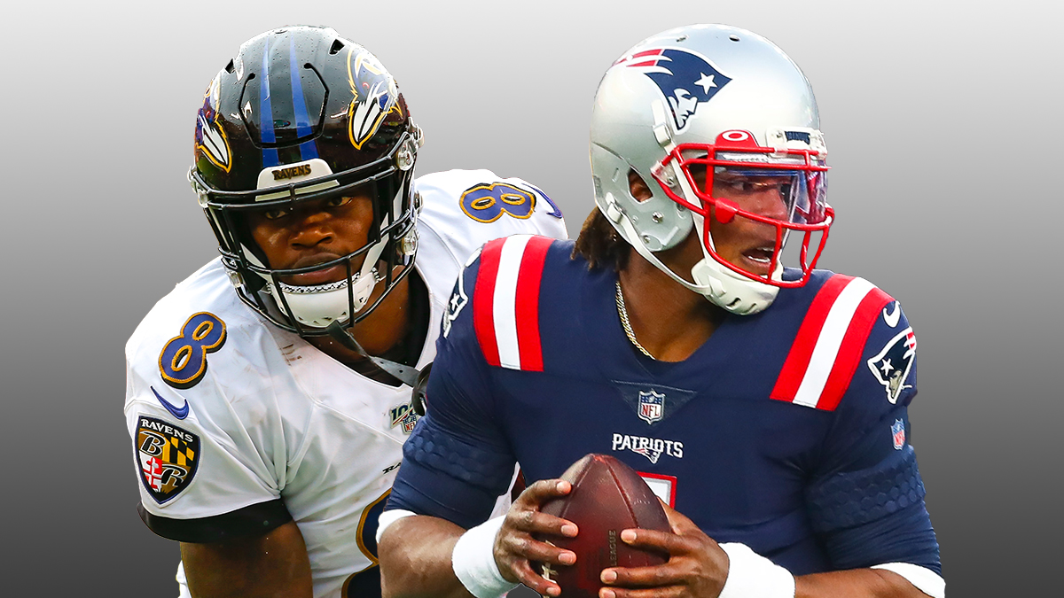 NFL Odds For Ravens vs. Patriots: Sunday Night Football Picks & Preview article feature image