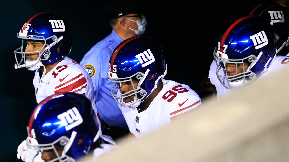 Buccaneers vs. Giants Picks: How To Fade the Monday Night Football Underdog article feature image