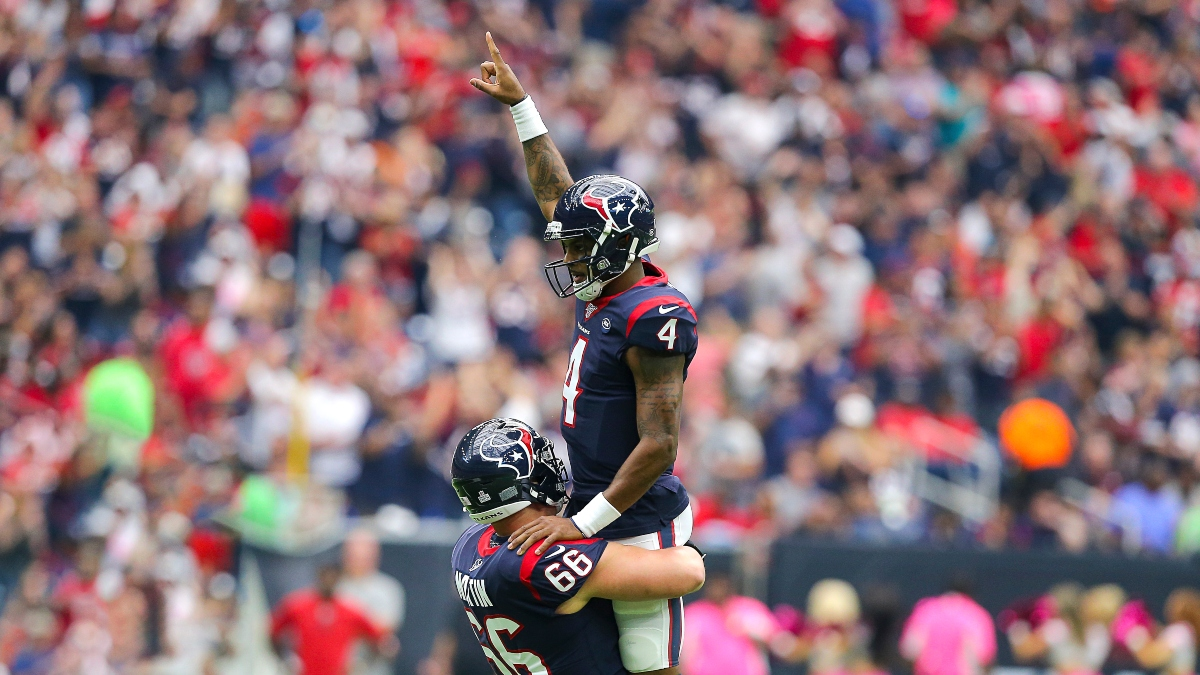 NFL Picks & Predictions: Texans Spread, Seahawks-Bills Over, More Week 9 Bets article feature image