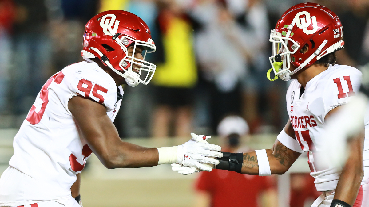 Oklahoma vs. Oklahoma State Promo: Bet $5, Win $100 if Sooners Cover +50! article feature image
