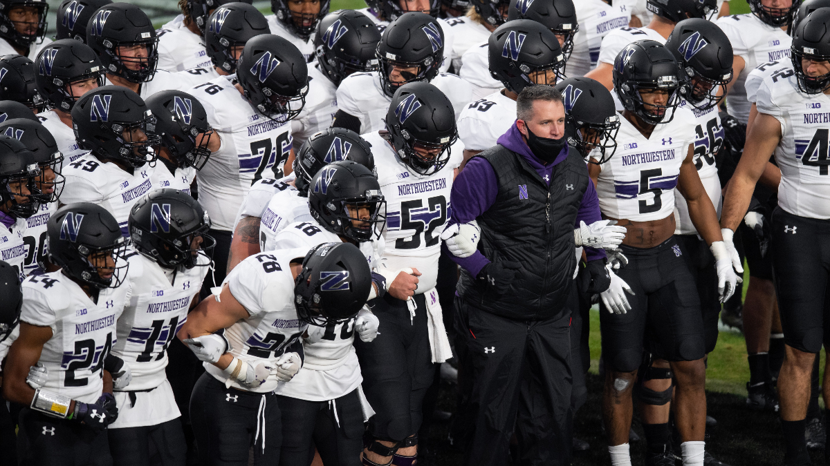 Rovell's College Football Notebook: Underdogs Northwestern, Indiana Attracting Most Money in Week 12 article feature image