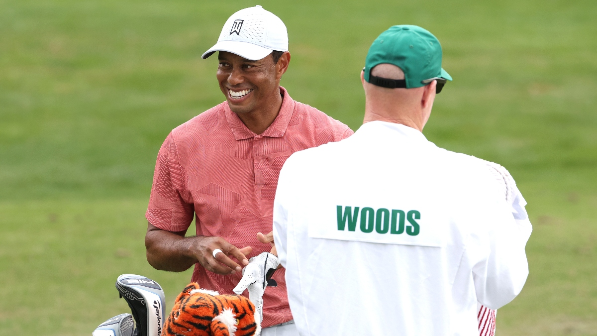 2020 Masters Betting Notebook: Even in Down Year, Tiger Woods Remains Popular as Ever at the Betting Window article feature image