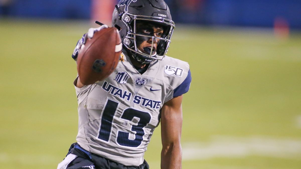 College Football Odds & Sharp Picks: How Pros Are Betting the Utah State vs. Nevada Spread & Total article feature image