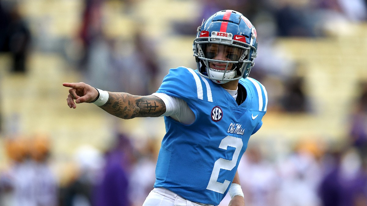 Indiana vs. Ole Miss Outback Bowl Betting Odds & Pick: Rebels Will Set Offensive Pace on Saturday article feature image