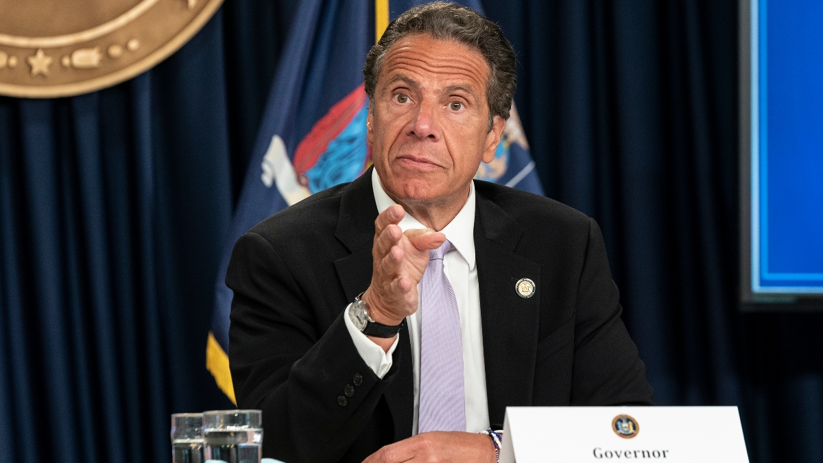 New York Governor Andrew Cuomo Indicates He's Open To Legalized Online Sports Betting article feature image