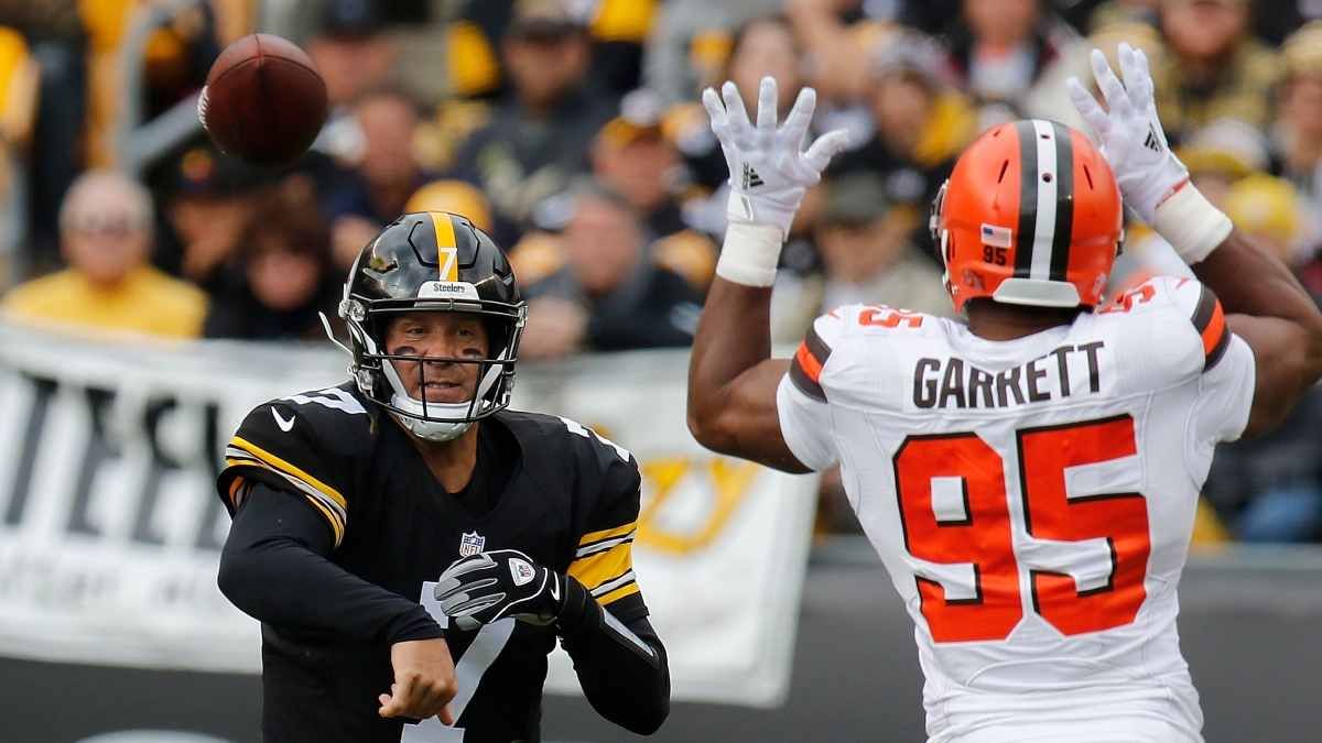 Browns vs. Steelers Playoff Odds: Opening Spread, Total & Wild Card Projections article feature image