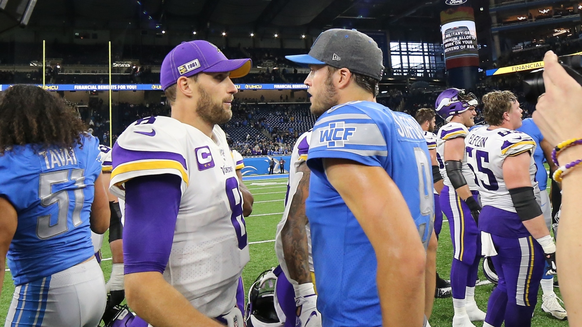 Lions vs. Vikings Odds & Picks: The Price To Bet Sunday's Underdog article feature image