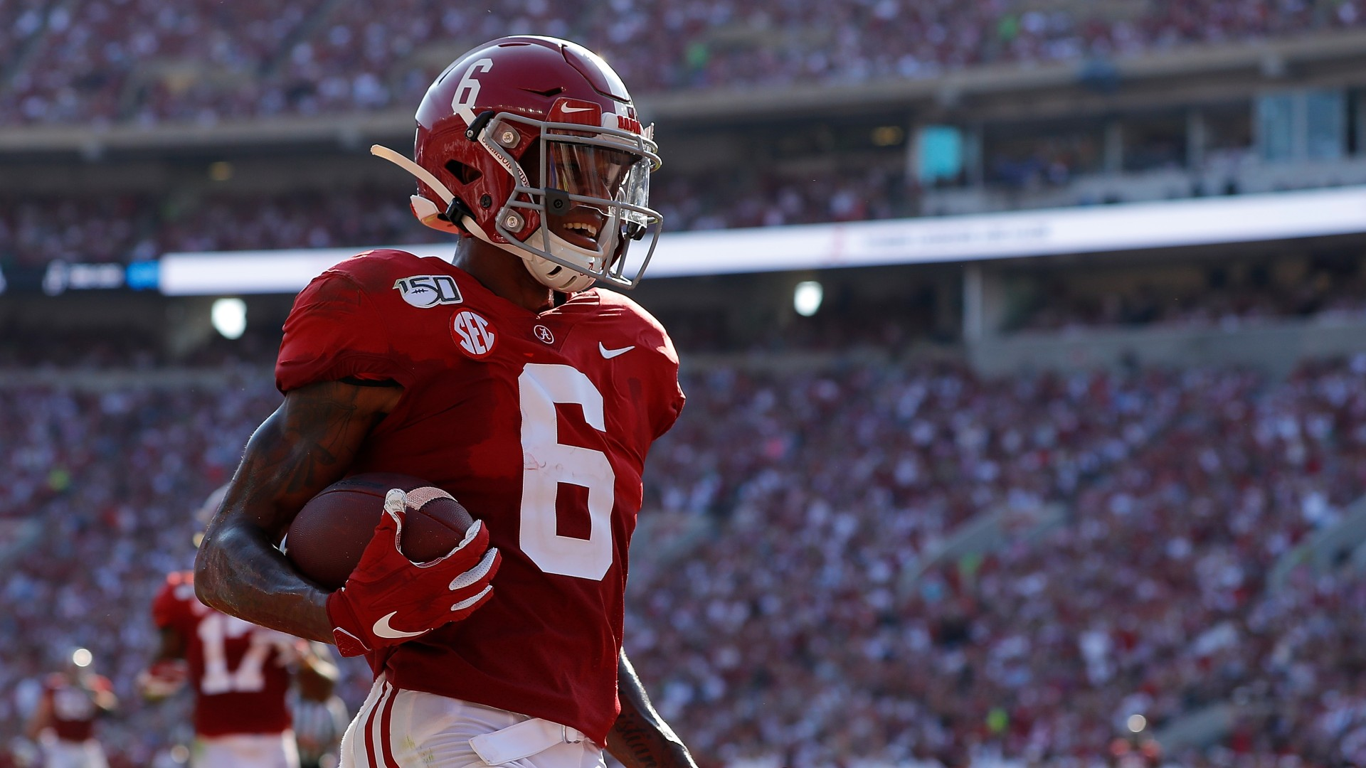 National Championship Promo: Bet $20, Win $100 if Alabama Covers +50! article feature image