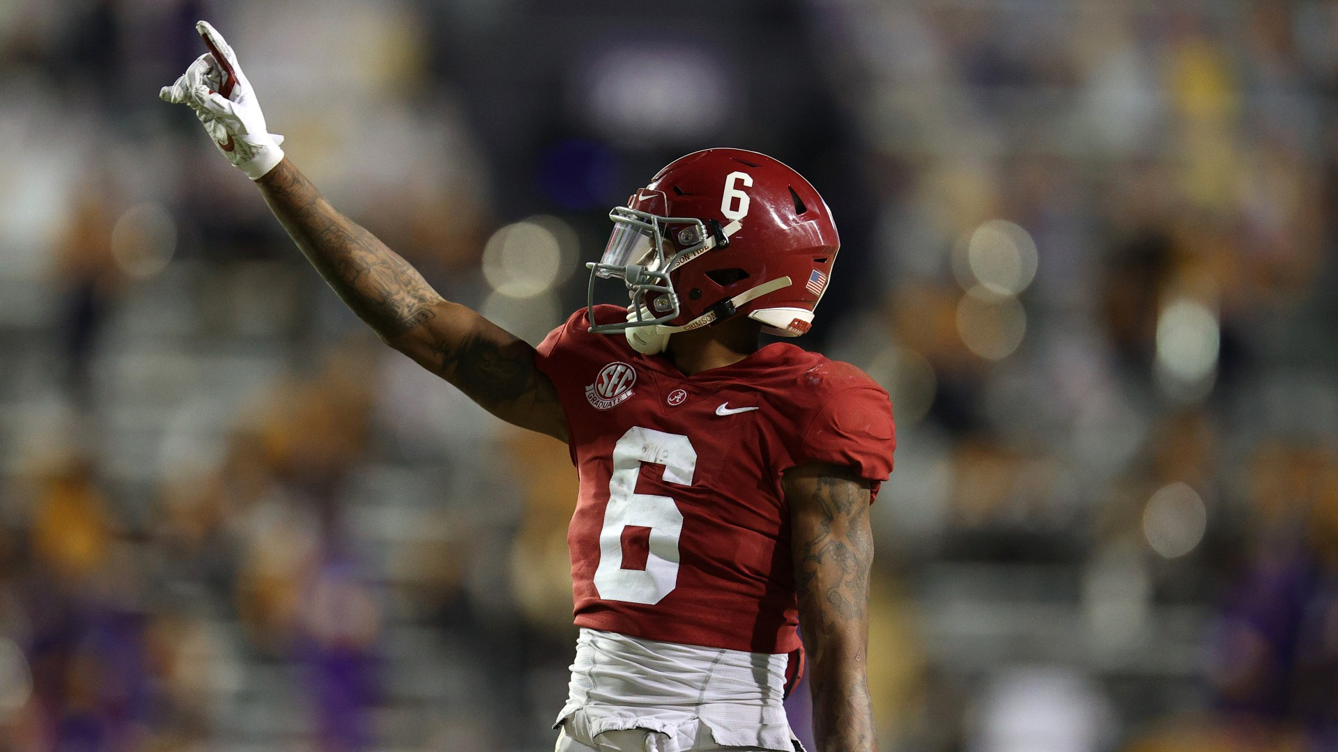Alabama vs. Ohio State Promo: Bet $20, Win $125 if Devonta Smith Catches a Pass! article feature image