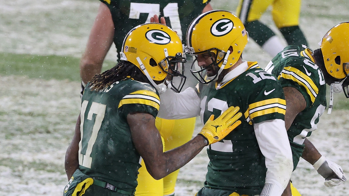 Divisional Round Promo: Bet $1, Win $100 if the Packers Win! article feature image
