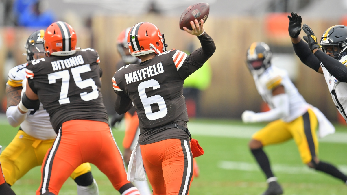 Browns vs. Steelers Odds & Picks: The Winning NFL Playoff Betting System For Sunday article feature image