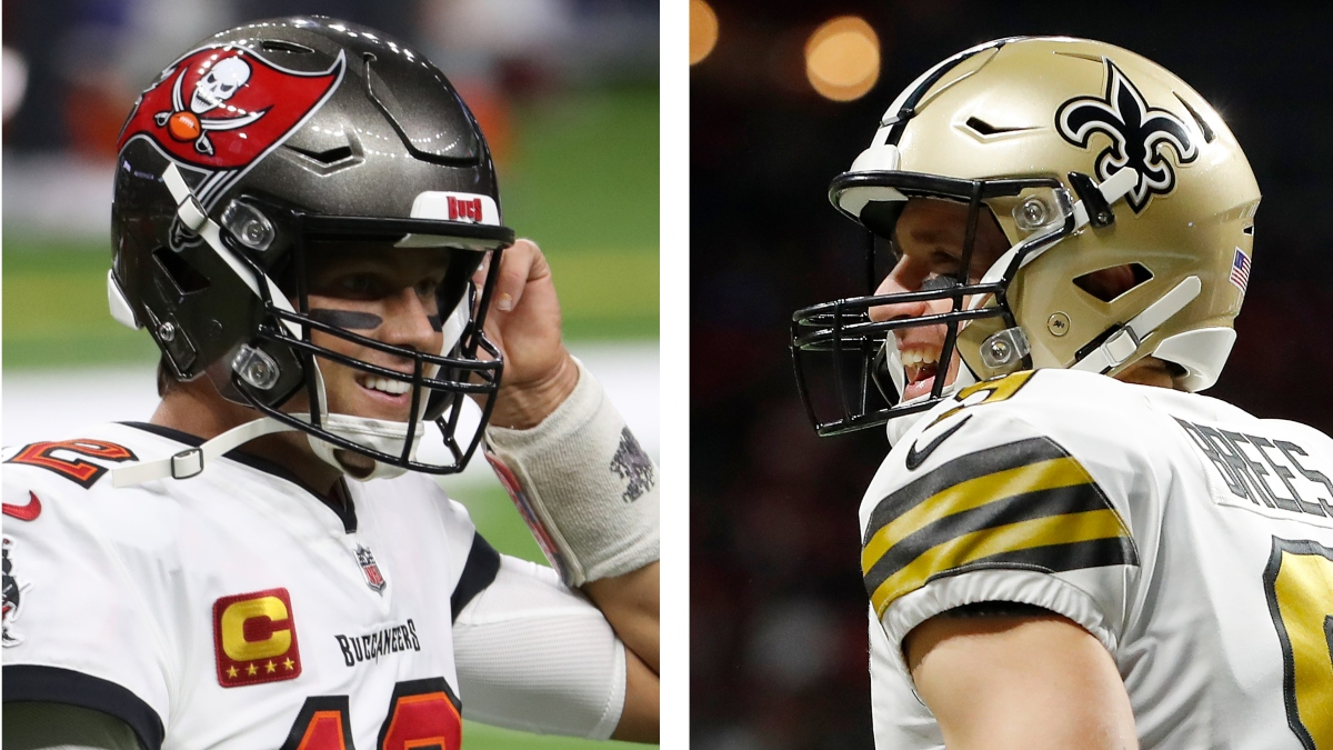 Saints vs. Buccaneers Odds & Playoff Schedule: Opening Spread, Total & More Divisional Round Details article feature image