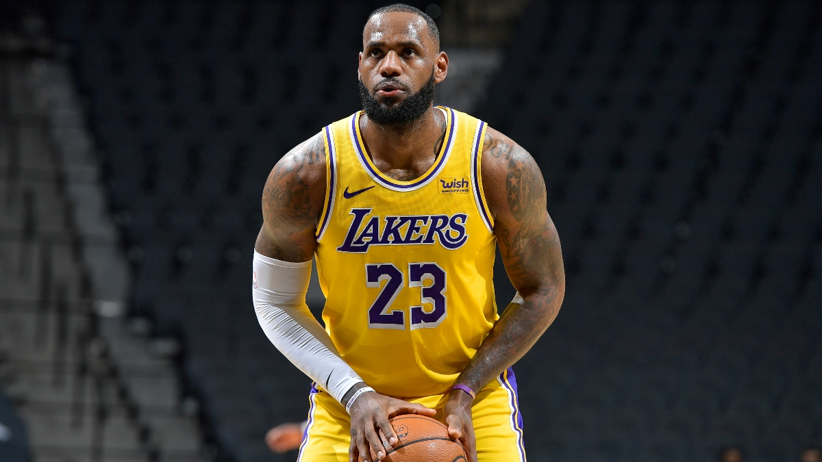 Bulls vs. Lakers Odds & Picks: Back Los Angeles If Two Stars Play article feature image