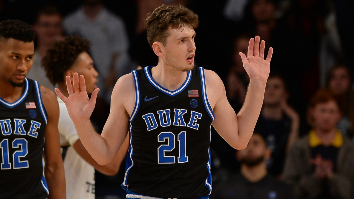 College Basketball Odds & Picks for Duke vs. Virginia Tech: The Winning Betting System for Tuesday Night article feature image