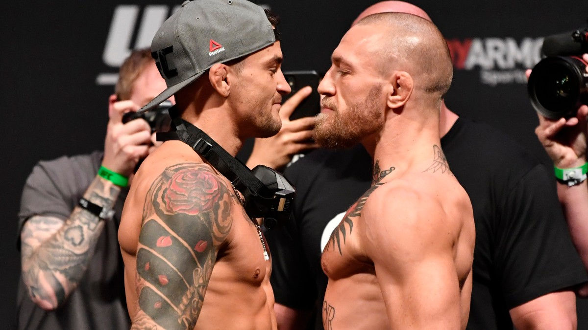 if i bet 100 on mcgregor how much would i win if he won