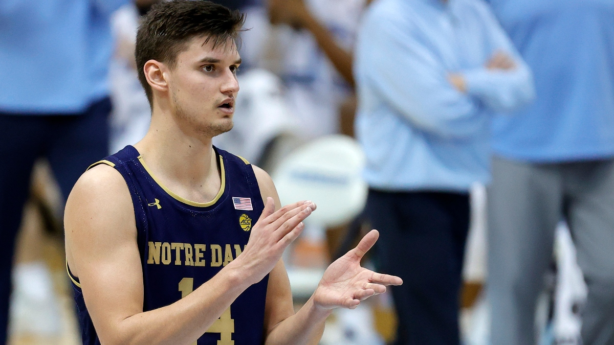 Notre Dame vs. Virginia Odds & Pick: Expect Defensive Battle on Wednesday Night (Jan. 13) article feature image