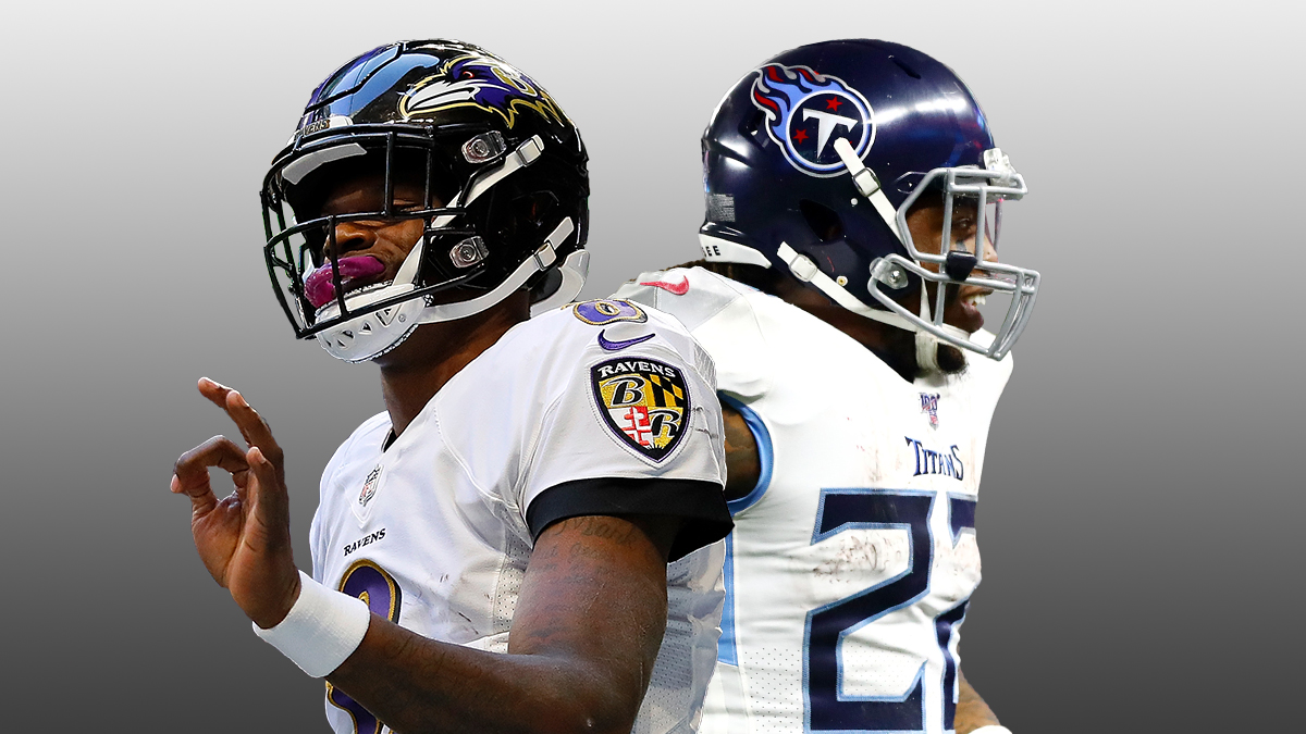 Titans vs. Ravens Odds & Playoff Picks: Debating How To Bet This Wild Card Spread & Total article feature image