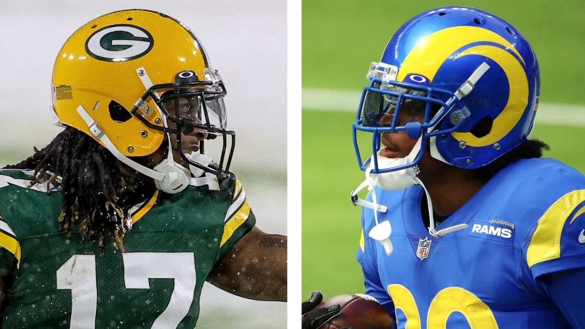 Packers vs. Rams WR/CB Matchups: Davante Adams vs. Jalen Ramsey in NFL Playoffs article feature image
