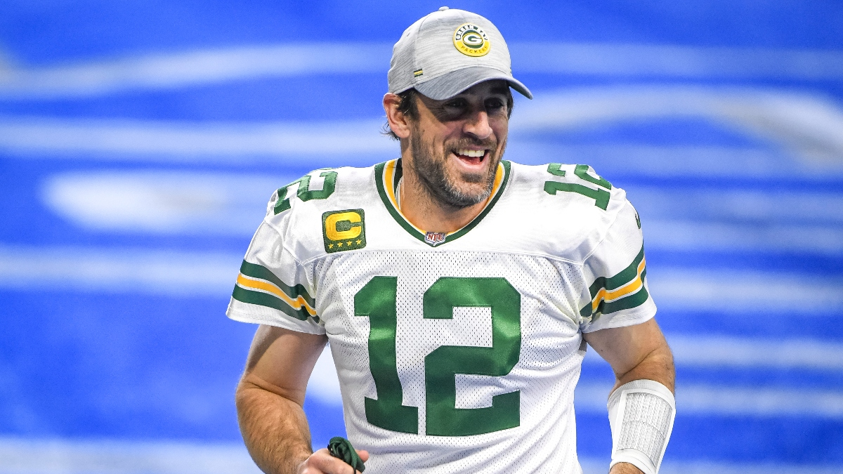 Packers-Rams Promo: Bet $20, Win $125 if Aaron Rodgers Completes a Pass article feature image