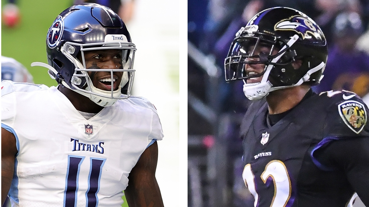 Ravens vs. Titans WR/CB Matchups: A.J. Brown Gets Downgrade In Wild Card Round article feature image