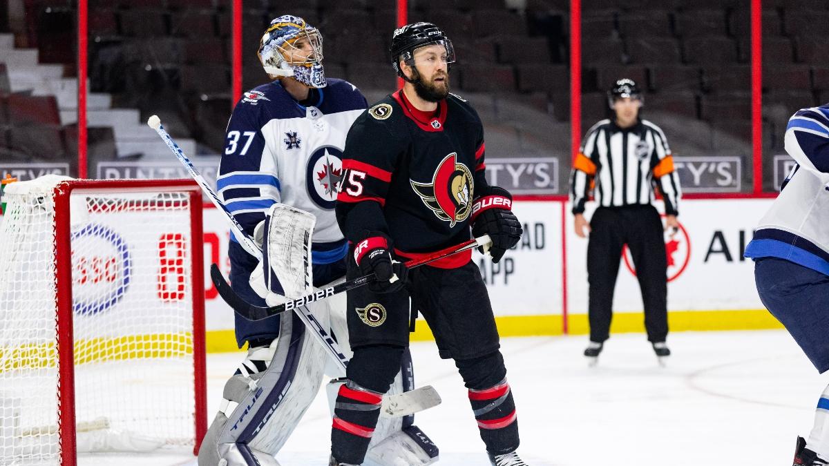 NHL Betting Picks: Our Best Bets for Saturday, Jan. 23, Including Flyers-Bruins & Senators-Jets