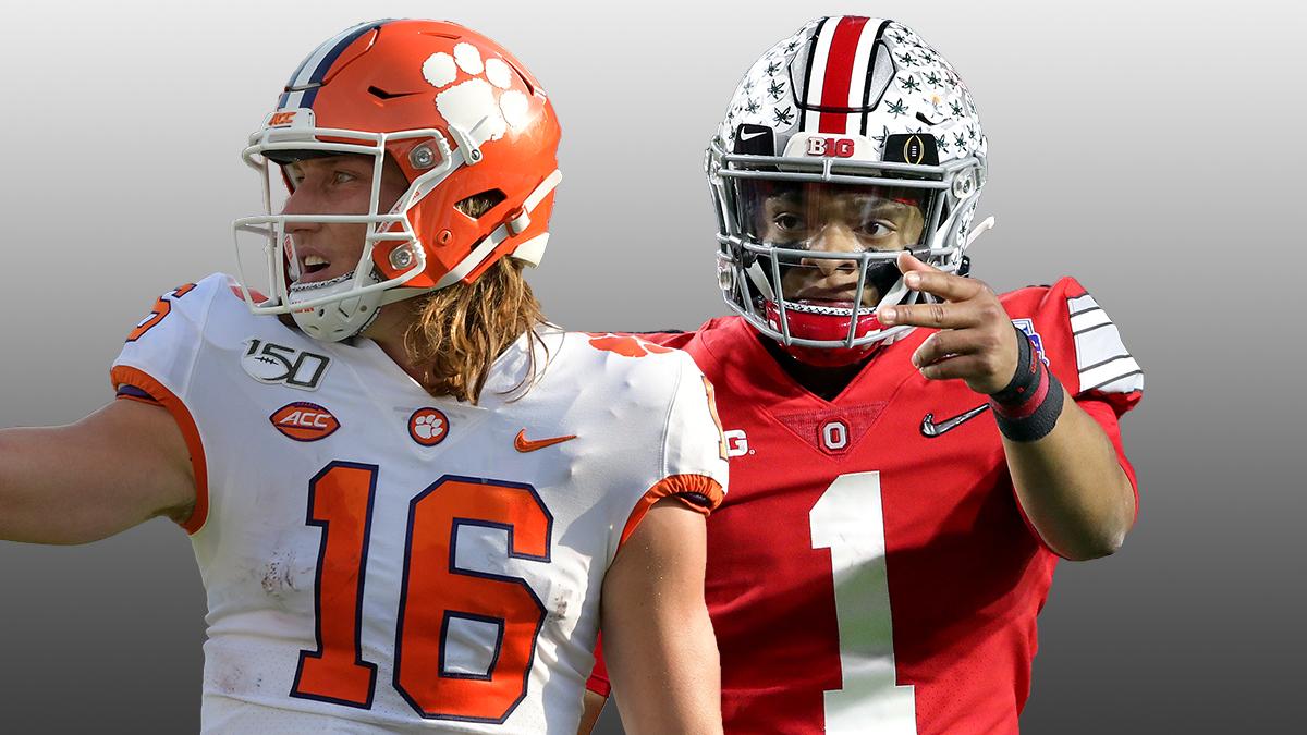 NFL Draft Odds: Trevor Lawrence or Justin Fields? Betting ...