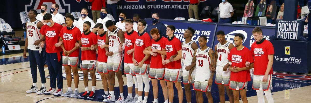 ncaa-college basketball-betting-odds-picks-best bets-three man weave-eastern illinois-austin peay-arizona-usc-long island-central connecticut state-february 20