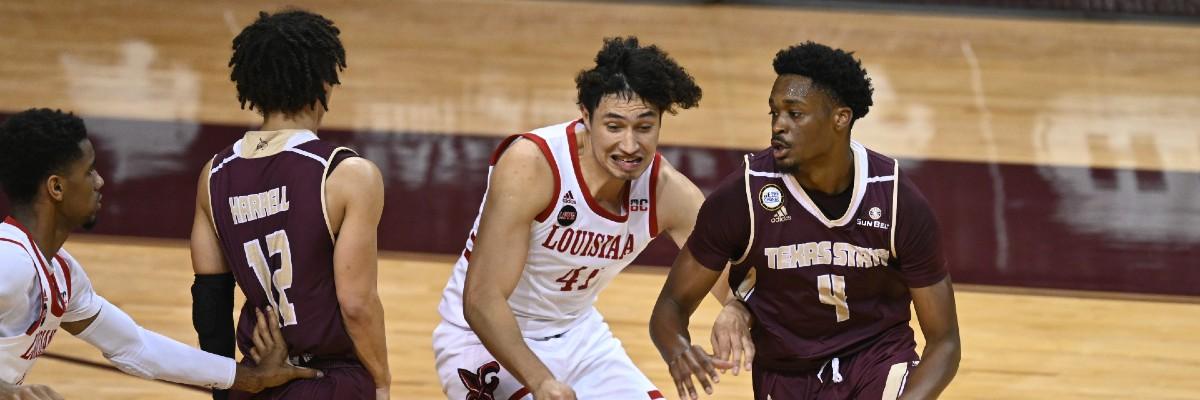 ncaa-college basketball-best bets-three man weave-texas state-ut arlington-pacific-loyola marymount-south dakota state-oral roberts-february 13