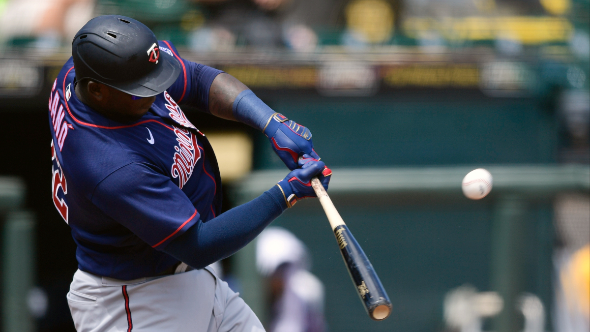 mlb-betting-odds-picks-predictions-projections-pro report-tuesday-april 20-2021-minnesota twins-miguel sano