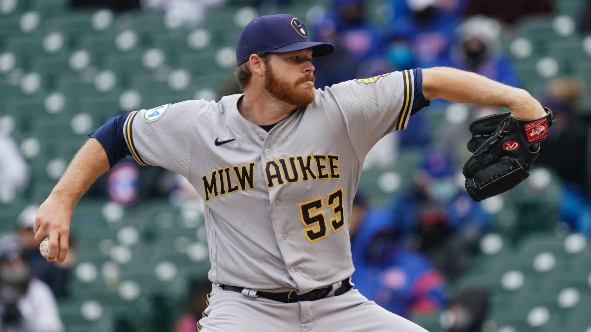 major league baseball-betting-odds-picks-predictions-milwaukee brewers-brandon woodruff-wednesday-may 12