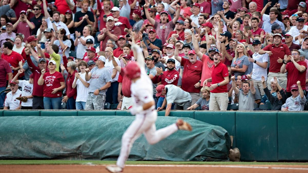 college baseball-super regionals-odds-predictions-betting-picks-preview-nc state-arkansas-ole miss-arizona-vanderbilt-east carolina-texas tech-stanford-virginia-dallas baptist-tennessee-lsu-mississippi state-notre dame-south florida-texas-2021