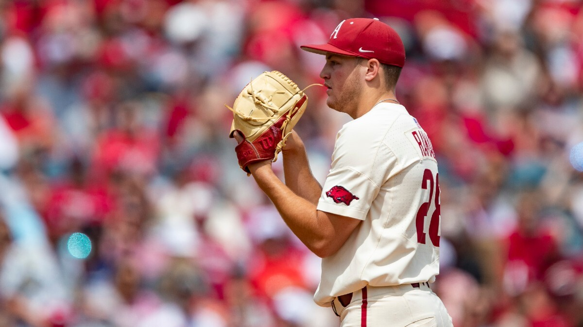 nc state-vs-arkansas-college baseball-super regional-odds-picks-predictions-projections-betting-preview-series-schedule-2021