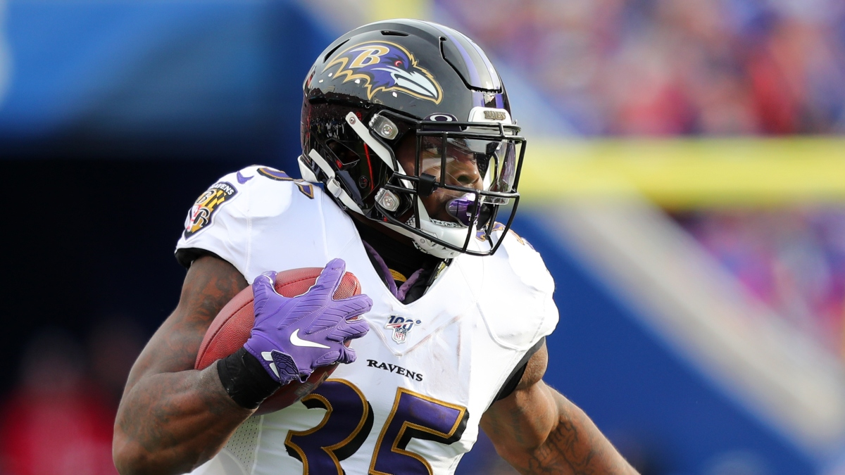 2021 NFL Rushing Yards Leader Odds, Picks & Longshot Bets: The Door Is Open For Gus Edwards - The Action Network