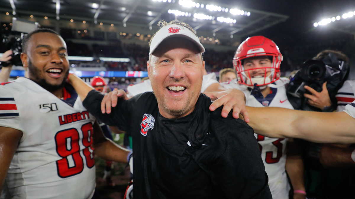 college football-head coaches-against the spread-ats-betting-winning percentage-hugh freeze-liberty